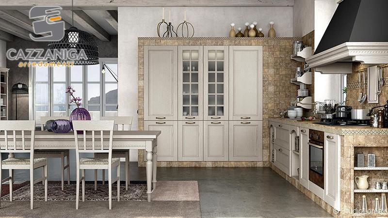 Cucine tradizionali arredamento mobilificio cucina for Cazzaniga arredamenti monza