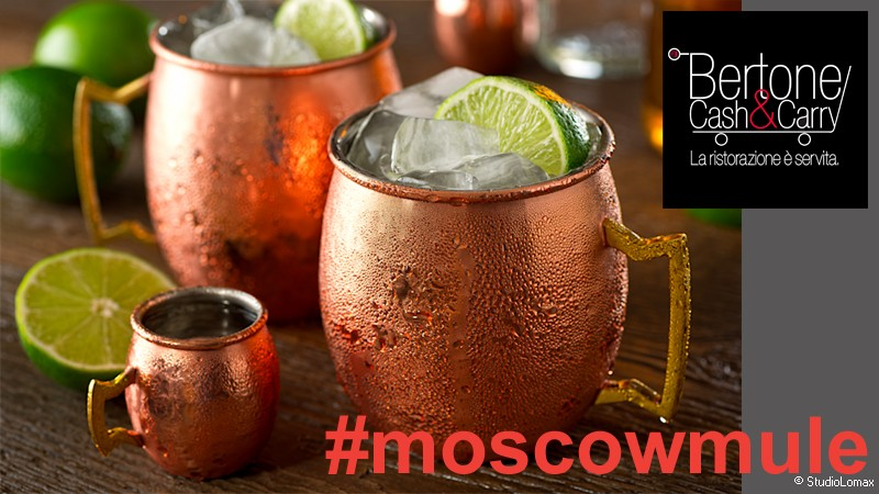 Boccali in Rame Moscow Mule